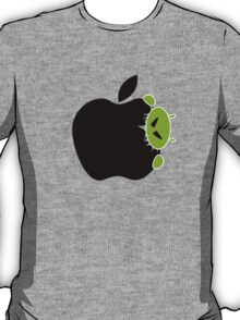 Android Bite Apple Funny T-Shirt / Samsung Galaxy Case /  Tote Bag / Pillow  T-Shirt