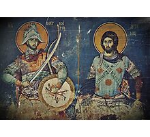 Saint Mercurius and Artemius  Photographic Print
