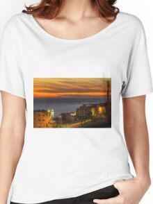 Christmas Day Sunset Women's Relaxed Fit T-Shirt