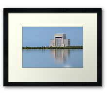 United Launch Alliance Reflects Framed Print
