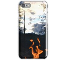 Flame in the Night iPhone Case/Skin