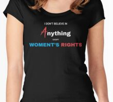 Womens Rights T-Shirt Women's Fitted Scoop T-Shirt