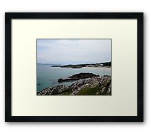 Beach along the Ring of Kerry Framed Print