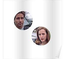 pilot mulder and scully!!! Poster