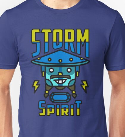 Storm Spirit Dota 2 VALVE SHIRT Unisex T-Shirt