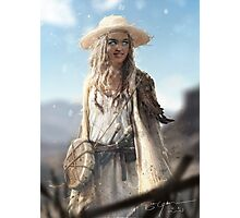 Mary - Grimslingers Art Photographic Print