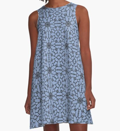 Serenity Lace A-Line Dress