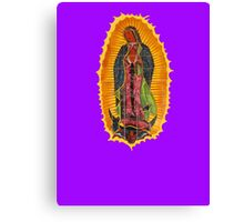 Lady of Guadalupe mural Canvas Print