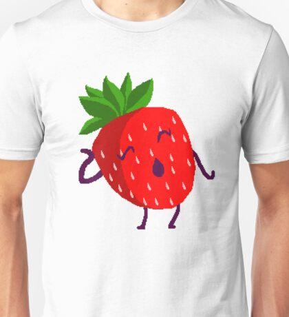 Dramatic Strawberry Unisex T-Shirt