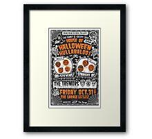 House of Halloween Hullabaloo Framed Print
