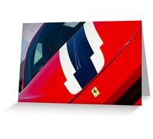 Ferrari 458 Speciale  Greeting Card