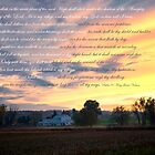 Psalm 91 Sunset Christian by KellyHeaton