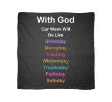 Daily Guidance From God Scarf