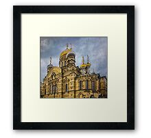 Church of the Assumption of the Blessed Virgin Mary - St. Petersburg Framed Print