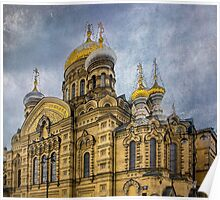 Church of the Assumption of the Blessed Virgin Mary - St. Petersburg Poster