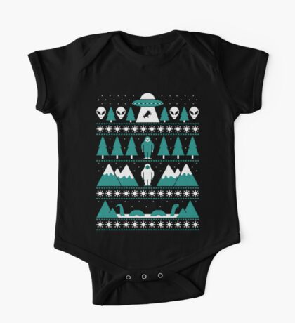 Paranormal Christmas Sweater One Piece - Short Sleeve