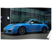 Porsche GT3 RS 4.0 in Stuttgart  Poster