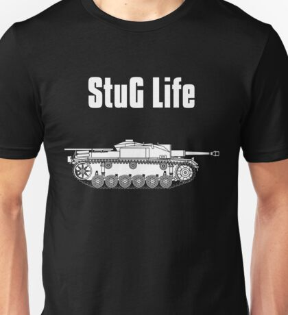 StuG Life - Military History Visualized (Vertical Version) Unisex T-Shirt