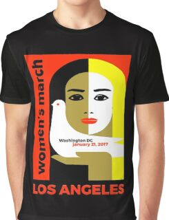 Women's March on Washington 2017, Los Angeles Graphic T-Shirt