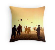 Ipanema beach - Balls Throw Pillow