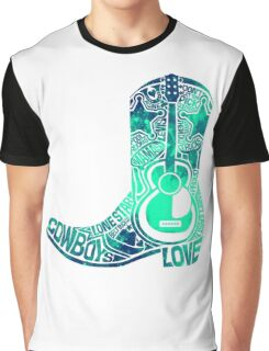 Cowboy Boot Graphic T-Shirt