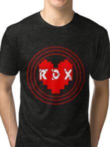 Pixel Heart RDX Tri-blend T-Shirt