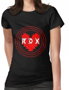 Pixel Heart RDX Womens Fitted T-Shirt