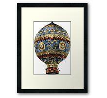 Montgolfier balloon Framed Print