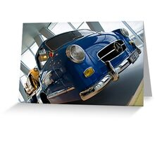 300SLR Rennwagen Shnelltransporter  Greeting Card