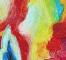 """Echo"" original artwork by Laura Tozer Sticker"