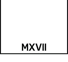 MXVII Brick by FreshThreadShop