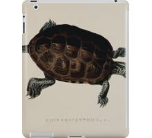 Tortoises terrapins and turtles drawn from life by James de Carle Sowerby and Edward Lear 035 iPad Case/Skin