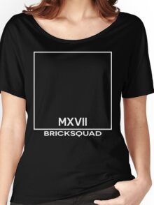 MXVII Bricksquad Minimal Design Women's Relaxed Fit T-Shirt