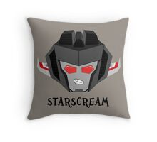 All Hail - Starscream Throw Pillow