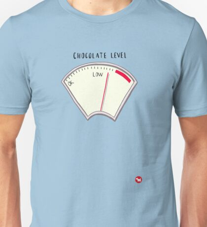 Chocolate level Unisex T-Shirt