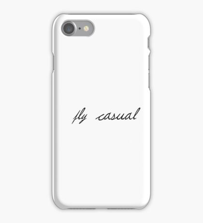 Fly Casual iPhone Case/Skin