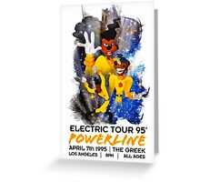 Powerline 2 - Goofy Movie Greeting Card