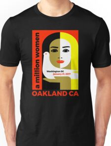 Women's March on Oakland CA January 21, 2017 Unisex T-Shirt