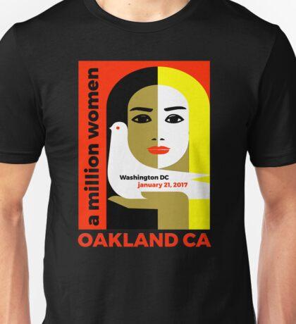 Women's March on Oakland CA January 21, 2017 Unisex T-Shirt