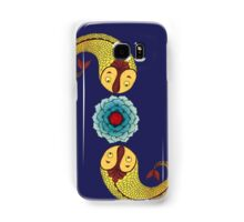 Curious Fish with Water Lily Samsung Galaxy Case/Skin