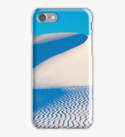 White Sands - Big Blue Wave iPhone Case/Skin
