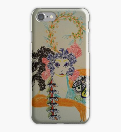 glamour pooch iPhone Case/Skin