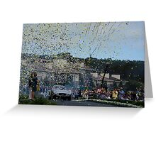 Best Of Show 2014 Pebble Beach Concours d' Elegance Greeting Card