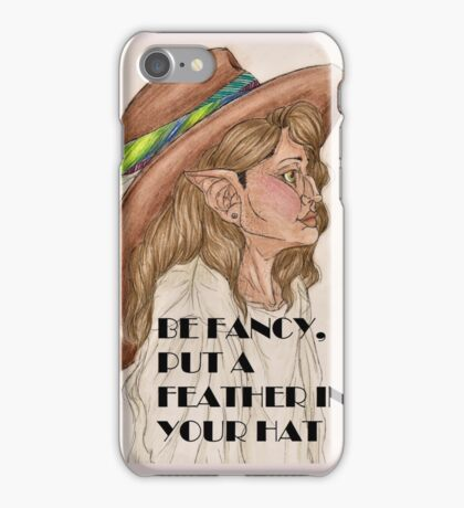 Be Fancy iPhone Case/Skin