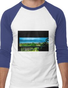 Lunch With A View Men's Baseball ¾ T-Shirt