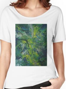 """""""Paradise Abducted"""" original artwork by Laura Tozer Women's Relaxed Fit T-Shirt"""