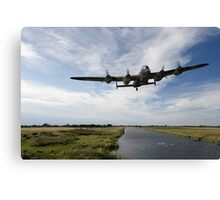 617 Squadron Dambusters training sortie Canvas Print