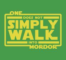 One Does Not Simply Walk Kids Tee