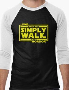 One Does Not Simply Walk Men's Baseball ¾ T-Shirt