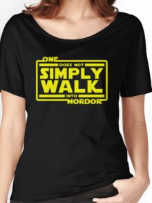 One Does Not Simply Walk Women's Relaxed Fit T-Shirt
